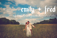 emily + fred {a kansas countryside wedding and gathering of friends}