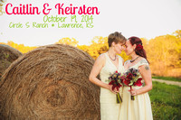 Keirsten & Caitlin {Lawrence Kansas Wedding Photography + Circle S Ranch}