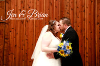 Jen & Brian {Kansas City Wedding Photography + Mahaffie Farmstead}