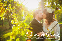 Wendy + Adam {Lawrence, KS Wedding Photography + The Oread}